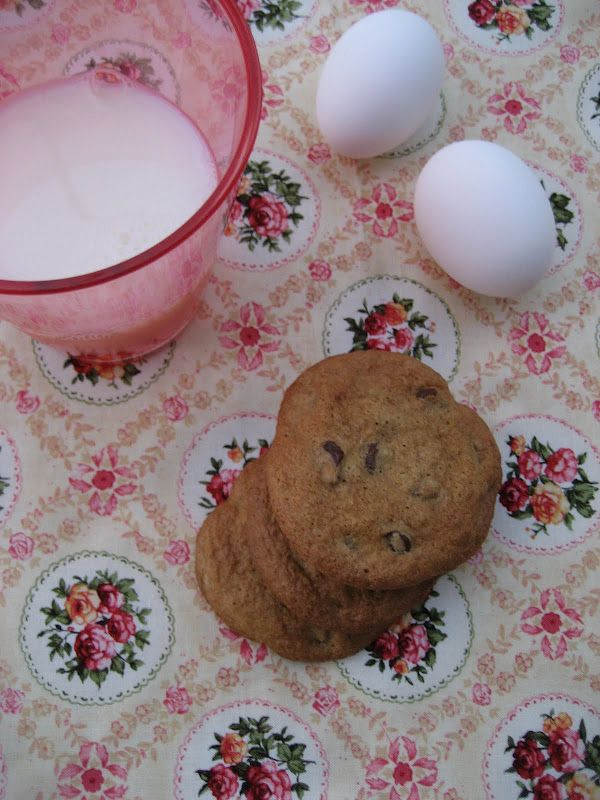 Chewy Gluten-free Chocolate Chip Cookies   food finds   Pinterest