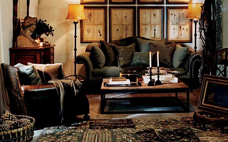 Ralph lauren style living room inspiration for the home for Ralph lauren living room designs