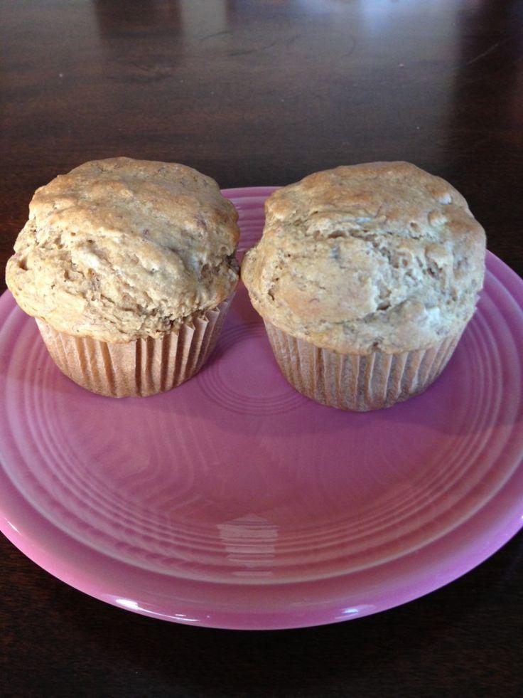Banana Muffins (Vegan and Oil Free) | Desserts | Pinterest