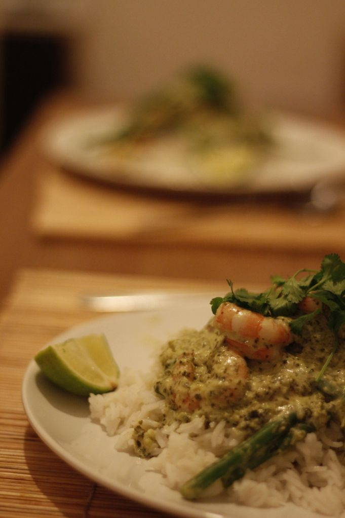 Green Thai Curry with King Prawns | Foodgasm | Pinterest