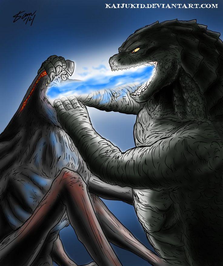 Godzilla vs. MUTO | Godzilla | Pinterest