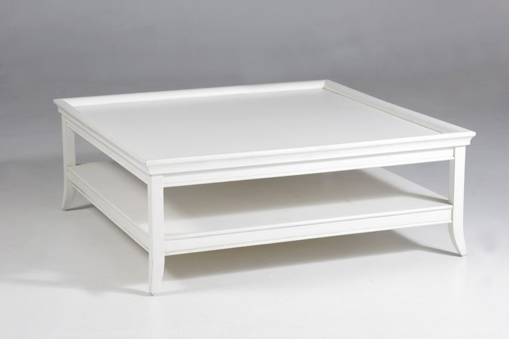 Oslo Square Coffee Table White Hamptons Style Pinterest