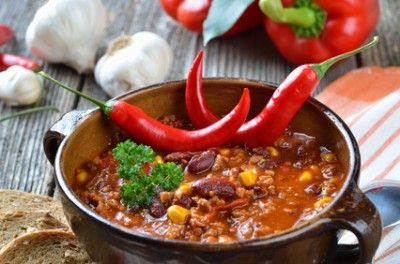 Simple Tasty Vegetarian Chili | Yum | Pinterest