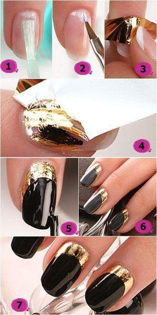 Luxury look nail tutorial
