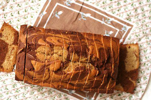 marbled loaf cake! | Cooking | Pinterest