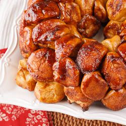how to make monkey bread from scratch without yeast