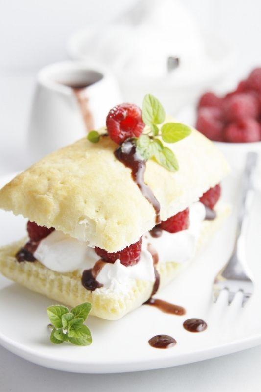 Summer Recipes - Raspberry Chocolate Napoleons