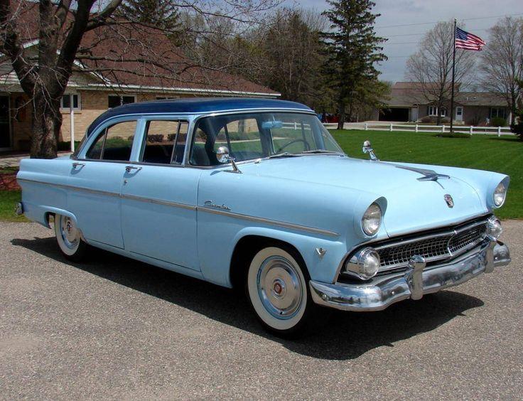 1955 ford customline ford 1955 1956 pinterest for 1955 ford customline 2 door