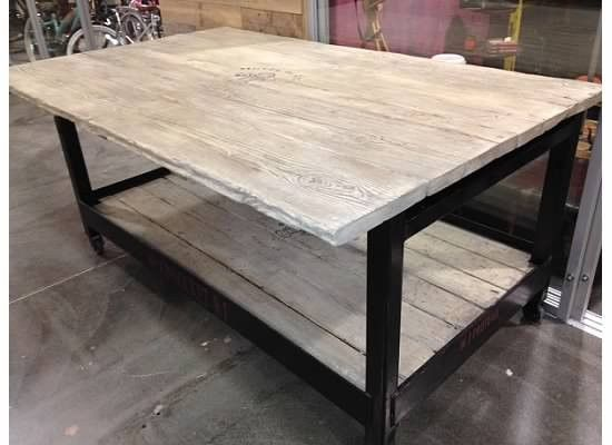 kitchen island on casters Handcrafted