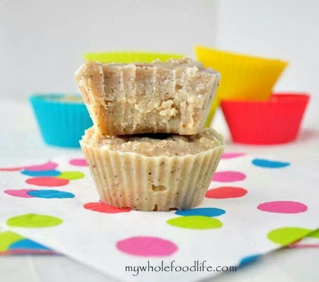 Paleo white chocolate coconut fudge   Healthy desserts   Pinterest