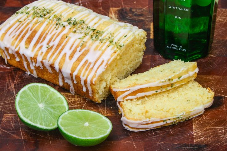 IMG 8654 1024x682 Gin Glazed Coconut and Lime Cake