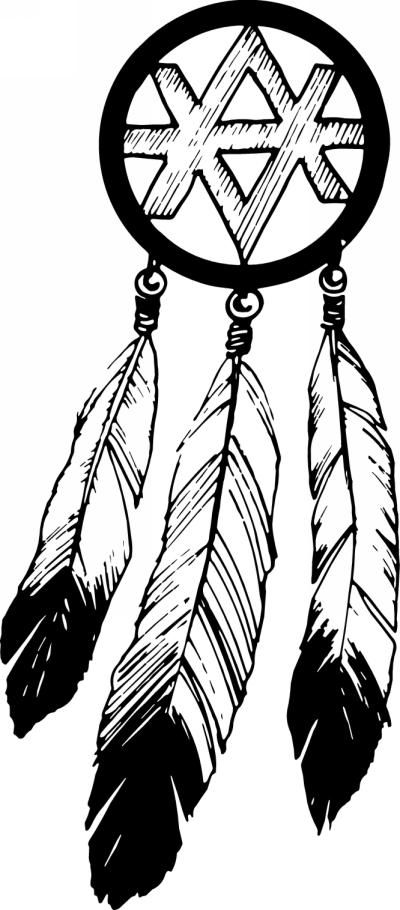 native american coloring pages printable dream catcher colouring
