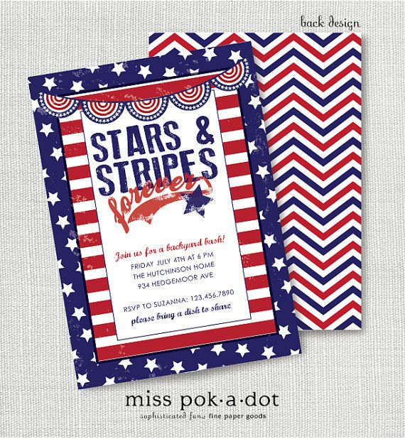 memorial day invitations printable