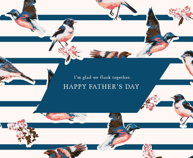 father's day ecard personalized