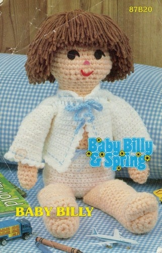 Annies Crochet Patterns : Annies Attic Baby Billy crochet doll pattern