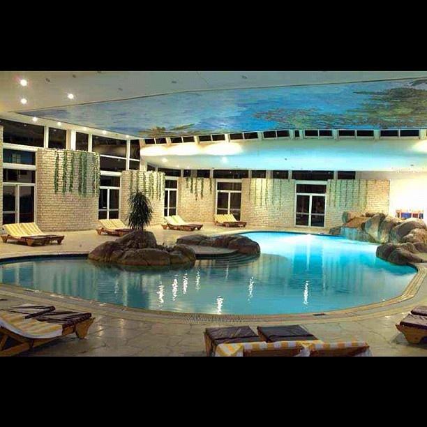 Luxury indoor pool dream homes pinterest for Luxury house pool