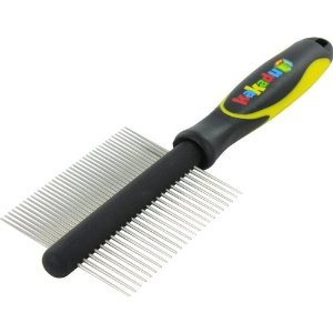 Kakadu Pet Two-sided Stainless Steel Dog or Cat Comb, One Size