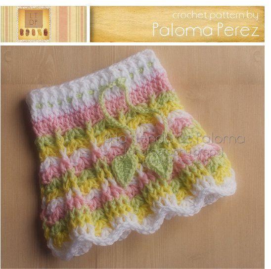 Primavera Skirt Pattern Baby/girl knit/crochet Pinterest