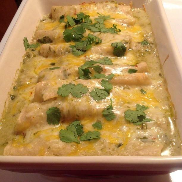 ... hot salsa verde salsa verde salsa verde salsa verde chicken enchiladas