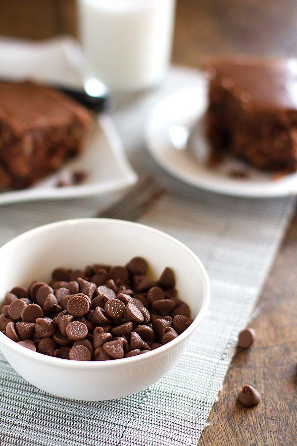World's Best Chocolate Oatmeal Cake Recipe (Pinch of You)