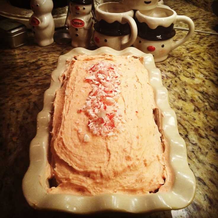 Devil's Food Layer Cake With Peppermint Frosting Recipe ...