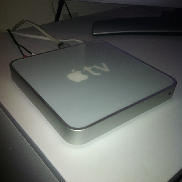 the apple tv is my favorite apple toy.