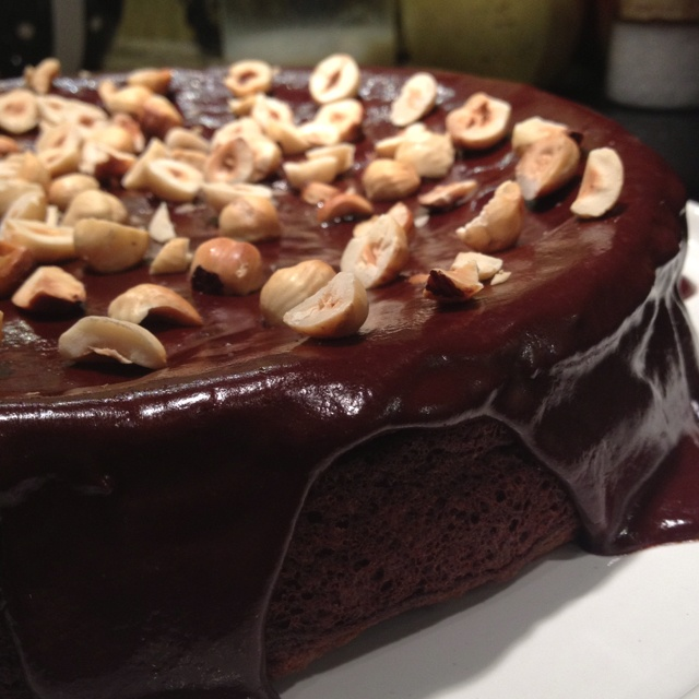 Flourless Nutella Cake with Chocolate Hazelnut Ganache | Food ...