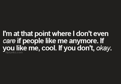 I Dont Care Anymore Quotes Tumblr | www.imgkid.com - The ...