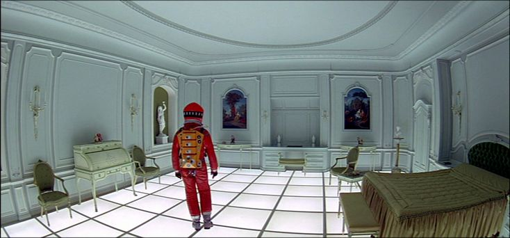 2001 a space odyssey bedroom production design