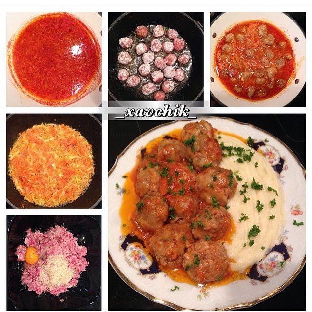 Рецепт тефтели в томатном соусе пошаговый с фото в духовке