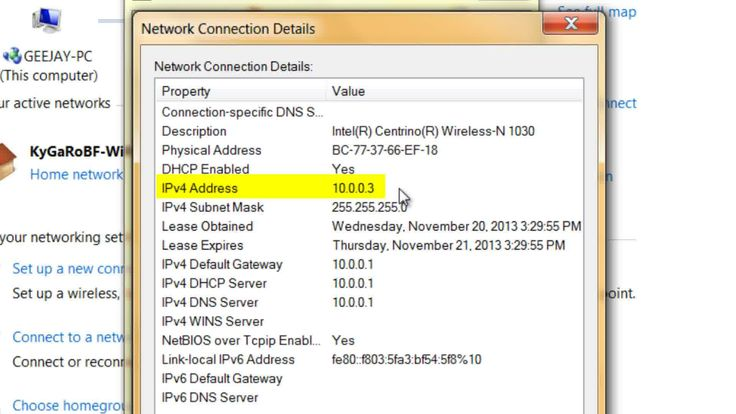 how to change your pc ip address