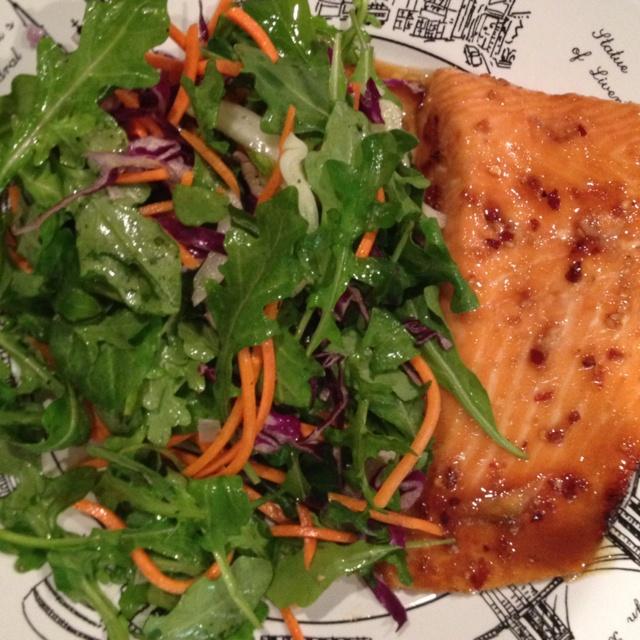 Teriyaki honey salmon | Dinner Recipes | Pinterest