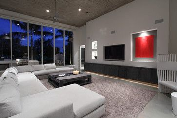 Family room modern family room miami brown interior design