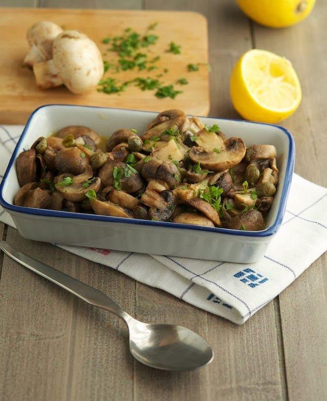 Easy Garlic Butter Roasted Mushrooms | Veggies/sides | Pinterest