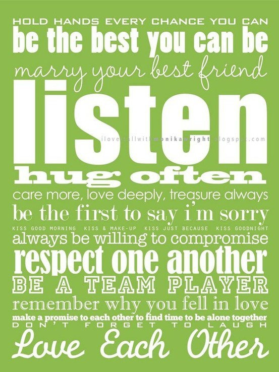 rules of love.  quotes.  Pinterest