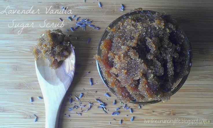 Lavender Vanilla Sugar (Body) Scrub | skin deep | Pinterest