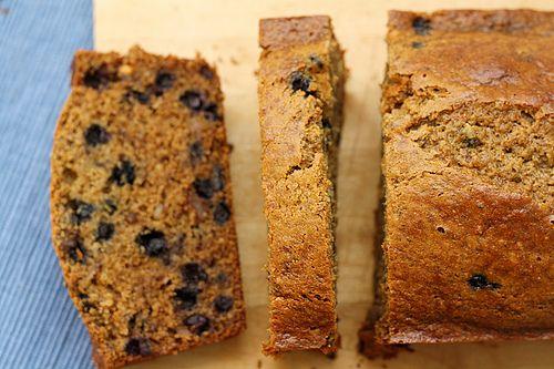 Whole Wheat Blueberry Banana Bread | Recipe