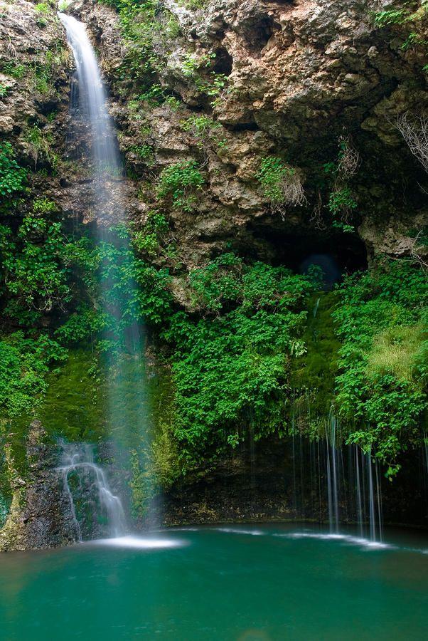 Natural Falls State Park Oklahoma