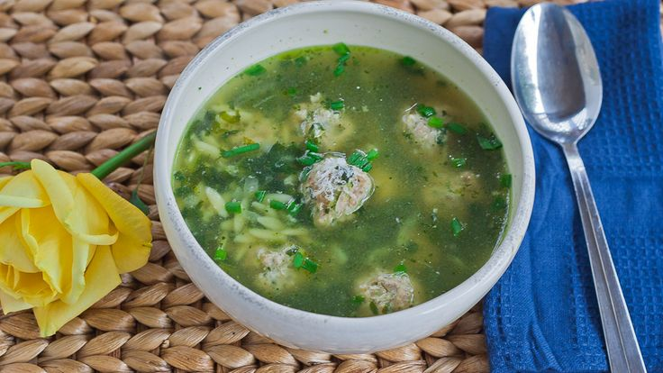 Italian Wedding Soup...try it with no salt chicken broth, extra ...