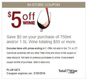 coupons total wine