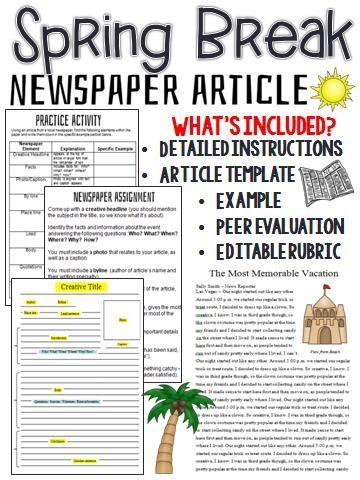 Write news article