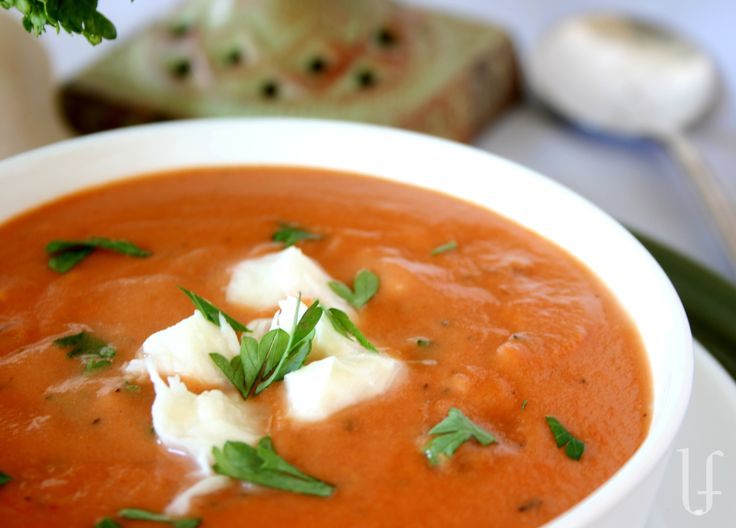 Tomato Crab Bisque | Fish and seafood | Pinterest