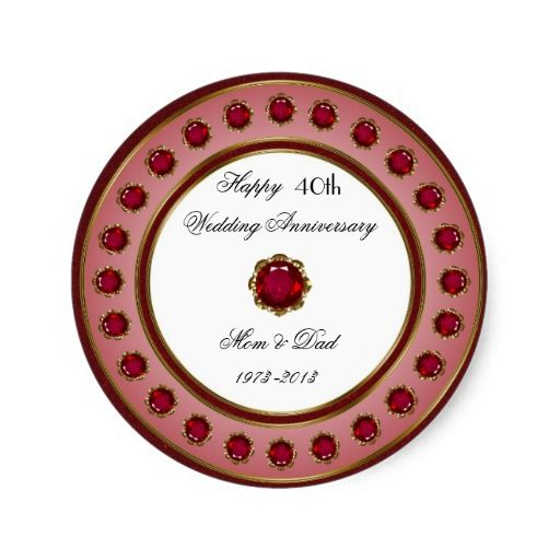 Image Result For Ruby Wedding Anniversary