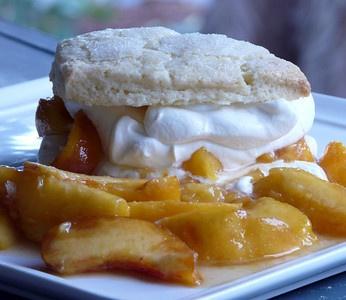 Peach Shortcakes | Desserts - Thibeault's Table | Pinterest
