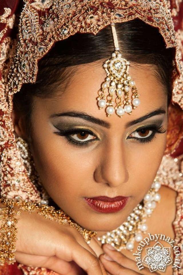 Ethnic Bridal Makeup : Asian Bridal Makeup (Traditional look) Indian Brides ...