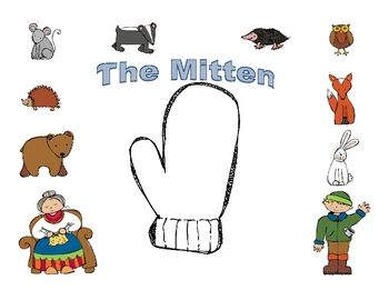 This mitten mini packet includes activities to go along with Jan Brett ...