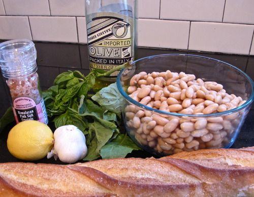 White Bean Dip with Basil ShayMitchell.com | Shay Mitchell