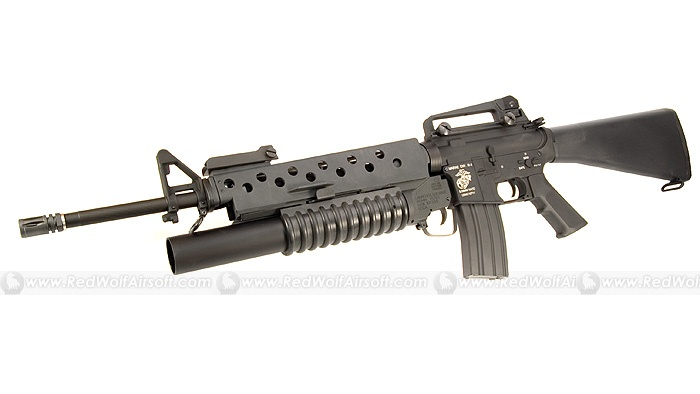 M16 with grenad...