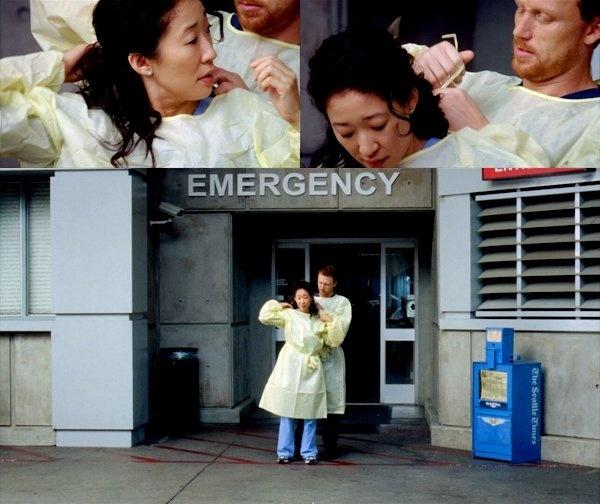 Cristina Yang and Owen Hunt (Grey's Anatomy): http://apocalyptically ...