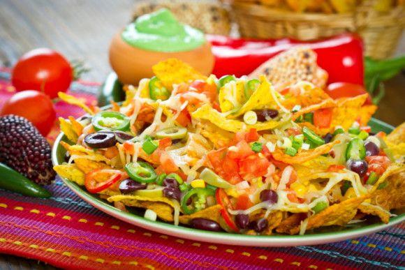 Greek Style nachos | Recipes - Appetizers & Snacks | Pinterest